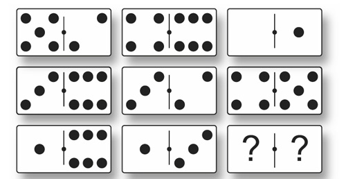 test psychotechnique les dominos r u00e9ussir le test